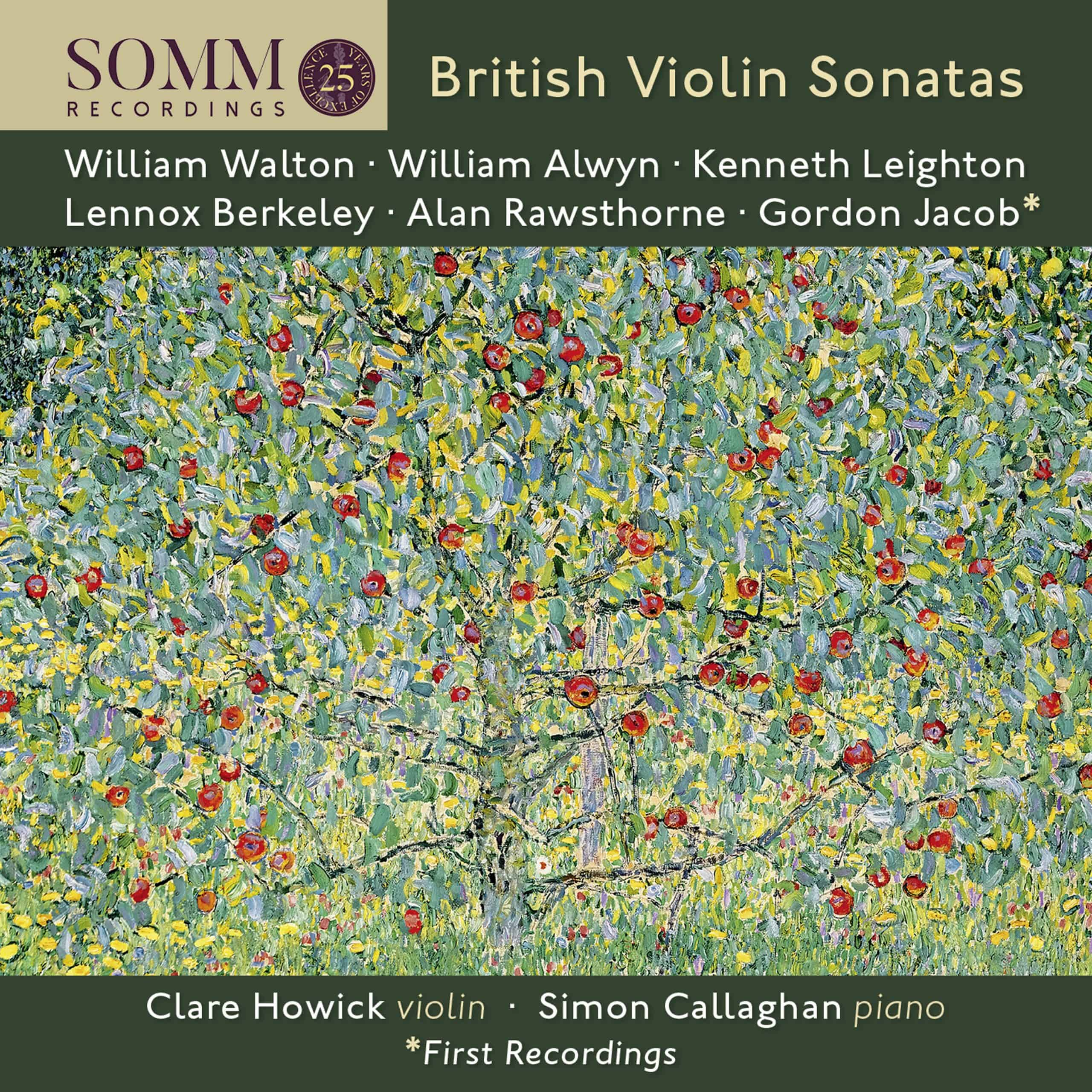 British Violin Sonatas